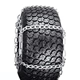 Snow Blower, Thrower, ATV, UTV, Tractor Tire Chains 20 x 8 x 8, 20 x 8 x 10 4 Link Spacing