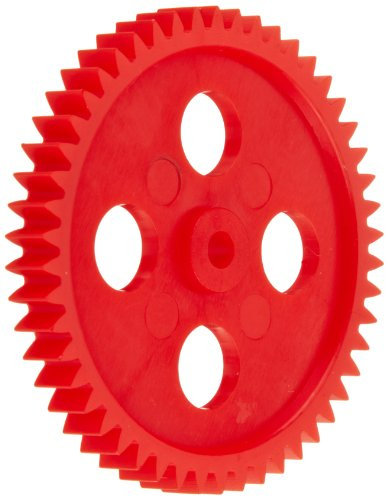 Ajax Scientific Plastic Gear with 50 Teeth (Pack of 10) (Assorted Plastic Gears)
