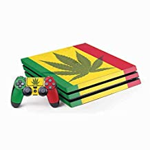 Rasta PS4 Pro Bundle Skin - Marijuana Rasta Flag | Skinit Lifestyle Skin