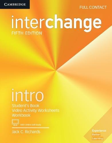 Interchange Intro Full Contact with Online Self-Study