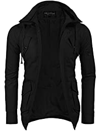 """<span class=""""a-offscreen"""">[Sponsored]</span>Men's Jacket Cotton Casual Stand Collar Full Zip Coat with Pockets"""