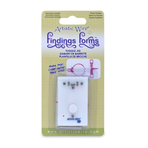 Beadalon Artistic Wire Findings Forms Toggle Jig -