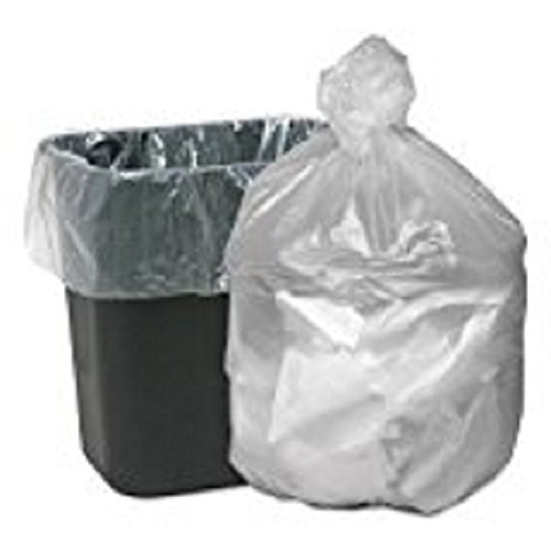Webster WBIGNT2433 High Density Waste Can Liners, Resin, 16 gal, 0.24 mil Thickness, 32