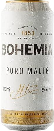 Cerveja Bohemia Puro Malte, Lata, 473ml 1un