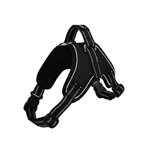 Pet Harness Safety Reflective Harness for Large Dogs 1000D Waterproof No Pull Pet Harness Puppy Pitbull Dog Easy Walk Collar S-XXL