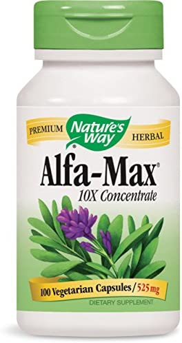 Nature s Way Alfa-Max, 100 Capsules Pack of 2