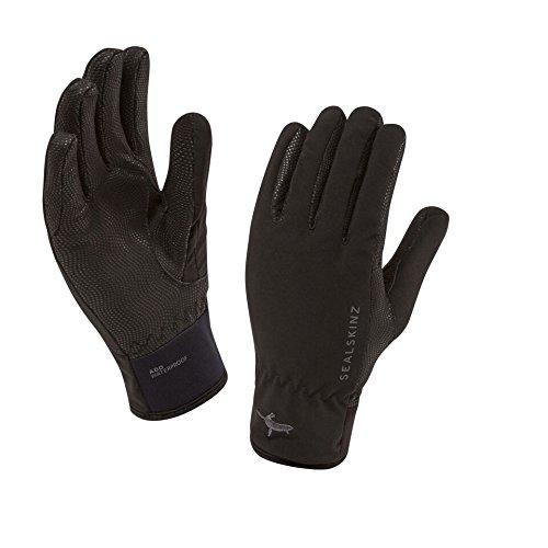 All Weather Leopard Gloves (SealSkinz Men's Waterproof Sea Leopard Gloves, Black, Small)