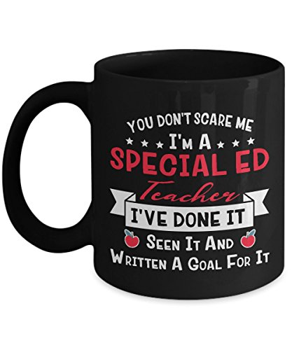 Vinci Style You Don't Scare Me I'm A Special Education Teacher - Autism Awareness Special Ed Teacher - Special Education Teacher 11 oz Funny Coffe Gift Mug
