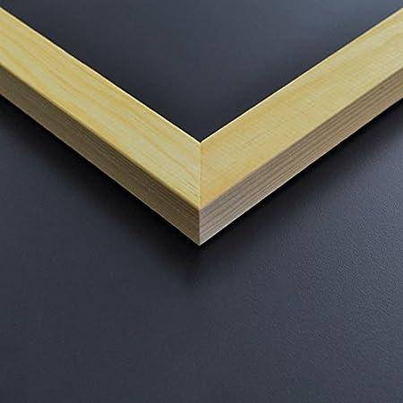 Kreidetafel A3 braun 42 x 30 cm mit Rahmen aus Holz