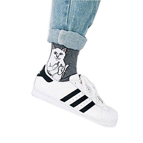 6d6fc5c0b5d0 RIPNDIP Lord Nermal Cat Socks Men Harajuku Hip Hop Skateboard Cats Mens  Funny Socks 700w (4) - Buy Online in Oman. | Apparel Products in Oman - See  Prices, ...