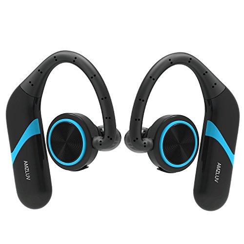 True Wireless Earbuds, Amzluv Bluetooth Wireless Headphones,
