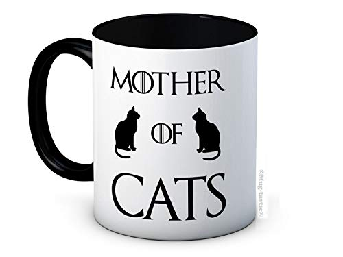 Mother of Cats - Game of Thrones Parody - Ceramic Coffee Mug