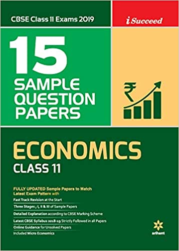 15 Sample Question Papers Economic Class 11th CBSE: Amazon