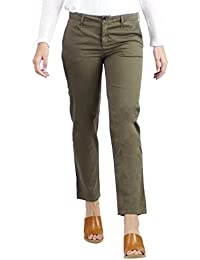 Traveller Cropped Pants, Fatigue, 26