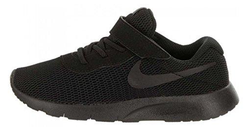 Nike Tanjun (PVS), Mädchen Sneaker, Weiß (Whaite-Gold 100) Schwarz