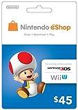 eCash - Nintendo eShop Gift Card $45 - Wii U / 3DS [Digital Code]