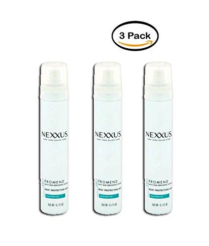 PACK OF 3 - Nexxus Promend for Split Ends Heat Protecting Mist 5.1 - Shampoo Antioxidant Nexxus
