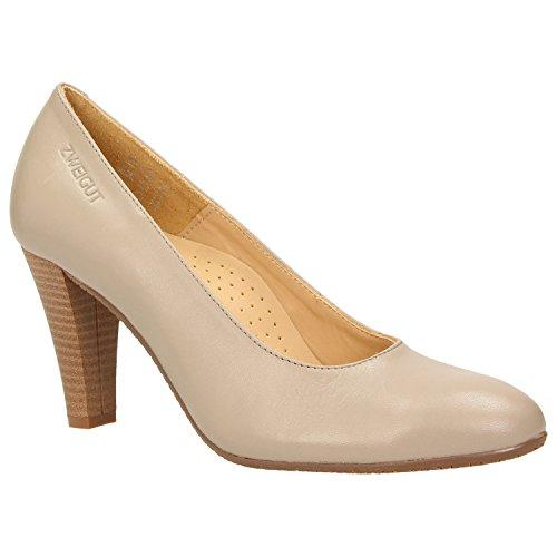 ZWEIGUT Women's Smuck #215 Court Shoes Earth