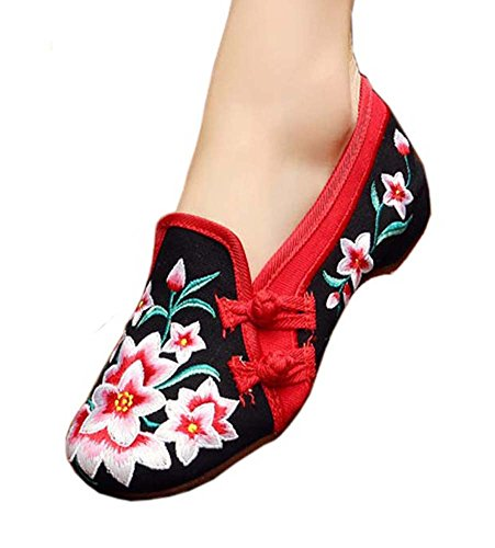 Vintage Design Chinese Shoes Embroidered Flats Cheongsam Shoes, 02 from George Jimmy