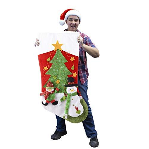 "JOYIN 40.5"" Giant Christmas Stocking for Party Tree Gift Decorations ()"