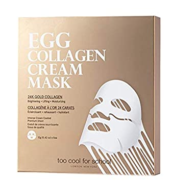 Too Cool For School, BRAND NEW, Latest Face Mask, 24k Gold Collagen for