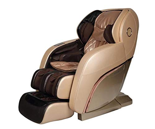 Relife New Vintage 4D Plus Intelligent Full Body Massage Chair – Intelligent Massage Chair -First Voice Control Massage Chair – New Launched – Champagne Brown