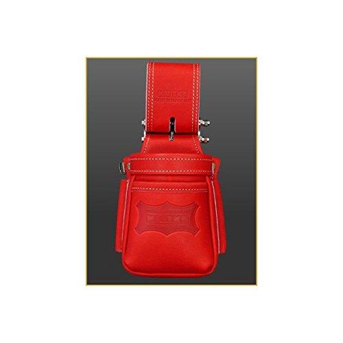 ニックス グローブ革 小物腰袋〈VAストリッパーフォルダー〉レッド KGR-201VADX【メーカー取寄品/返品不可商品】 B079N98KYZ