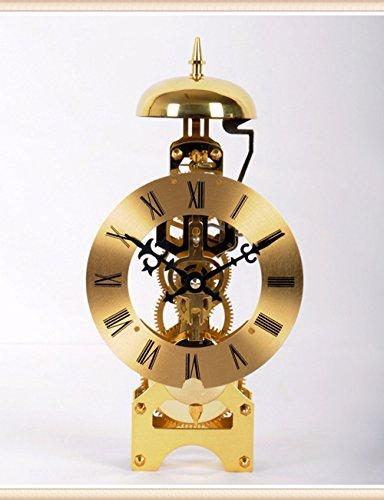 SUNQIAN-Copper winding mechanical movement clock, bell chime clock clock perspective, Chinese Feng Shui,b by SUNQIAN