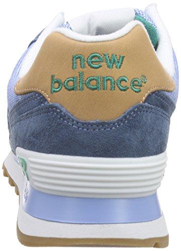 Nye Balanse Menns Ml 574 Pib, Løping-blått (blått / Grønt)