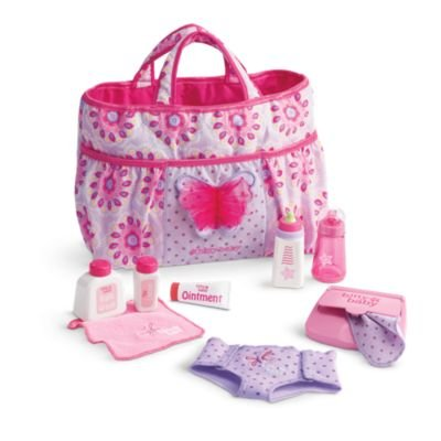 American Girl Bitty Baby - Mommy's Diaper Bag Essentials for Dolls - Bitty Baby 2015 by American Girl