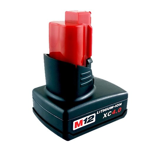 ABLEGRID® Trademarked Compatible Lithium-Ion Battery for Milwaukee 48-11-2402 M12 4A XC Lithium-Ion Cordless Tool Battery (M12#4A)