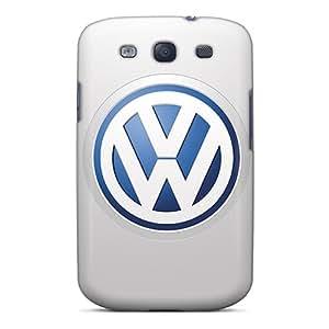 AshtonWells Samsung Galaxy S3 Excellent Hard Cell-phone Case Support Personal Customs Trendy Volkswagen Logo Series [rIZ15897Vhwe]