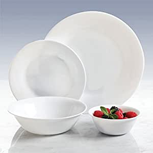Amazon.com: Oster 16 Piece Round Rim Shape Opal Tempered