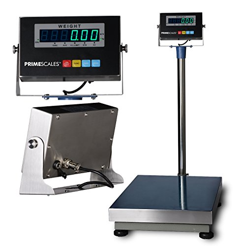 Medical Scale Shipping Scale Animal Scale /& Check-Weightier Postal Scale Z-TCS 16x20//800/×0.05lb Bench Scale with Stainless Steel Indicator /& Platter