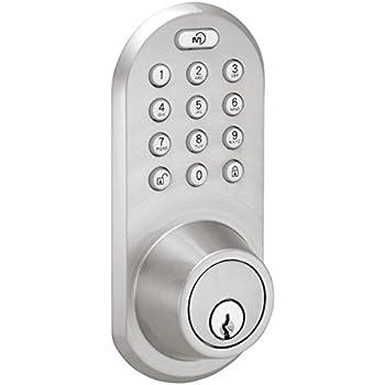 Milocks Blef 02sn Bluetooth Deadbolt Door Lock With