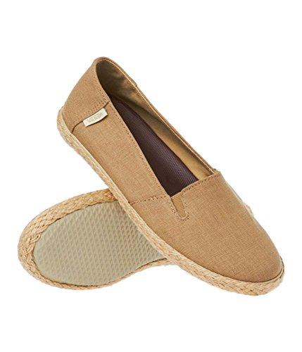 Vans Femmes Bixie Chanvre Sneakers Kaki