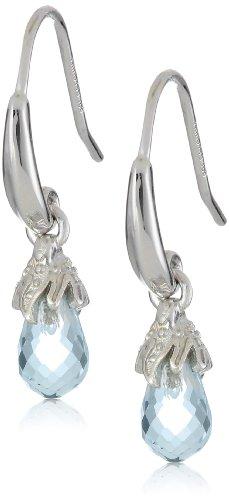 Sterling Silver Briolette Dangle Earrings