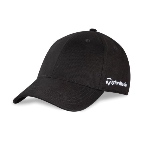 Taylormade Relaxed Cap (TaylorMade TM Core Front Hit Relaxed Fit Cap (Black))