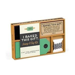 Robert Mahar for Knock Knock: I Baked This Gift Stamp & Tag Kit