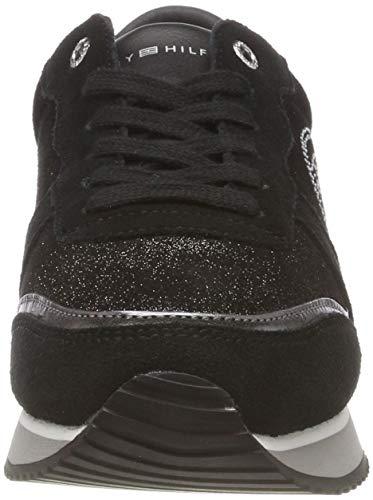 Basse Nero da Scarpe Black Tommy Sneaker Stud City Donna Hilfiger Ginnastica 990 XzXq0RBw