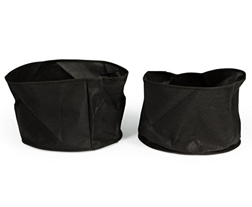Aquascape 98500 Fabric Plant Pot for Ponds, 12-Inch x 8-Inch, 2-Pack