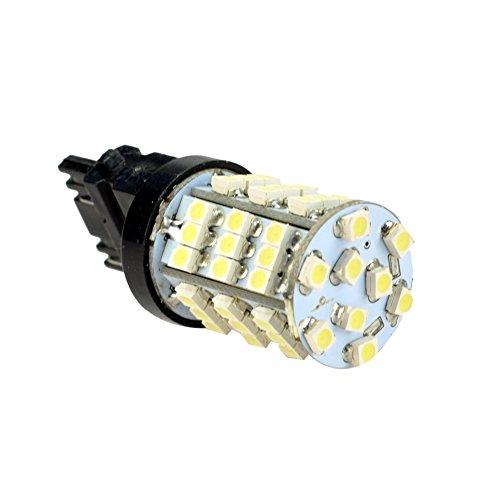 HOT SYSTEM™ 54-SMD 3156 3157 3757 4114 4157 Backup Daytime Running Light White LED Bulbs Reverse Light (10-pack, white)