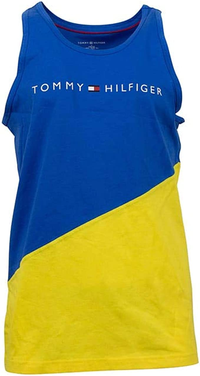 Tommy Hilfiger Mens Jersey Sleep Lounge Tank Pajama Top