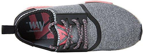 Grey Shoe Scarpe Casual Donna da Fitness Grigio Grey Beppi 6wv17qO