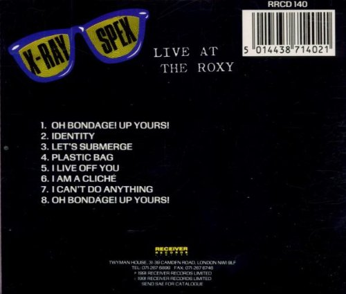 Live at the Roxy by Receiver Records