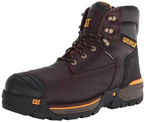"""Caterpillar Men's Excavator Lt 6"""" Waterproof Composite Toe Work Boot Construction"""