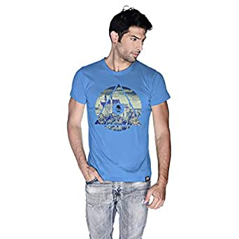 Creo Germany T-Shirt For Men - Xl, Blue