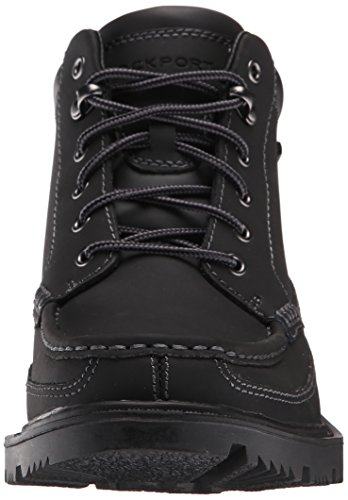 Black Rockport Men's Redemption Boot Road Moc Toe Waterproof 0fx0HqrP
