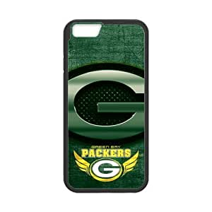 RAROFU Large Logo Green Bay Packers Custom Case for iPhone6 4.7 (Laser Technology)