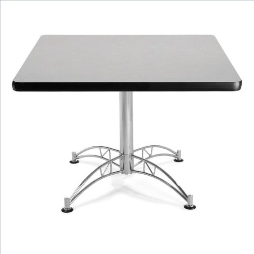 OFM KLT42SQ-GRYNB Square Multi-Purpose Table, 42'', Gray Nebula